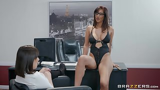 Busty and horny rendezvous lesbians Isis Love and Jenna Sativa