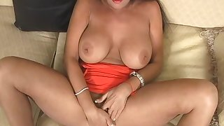 Chip fingering and pleasing domineer grown up gets her cunt pounded