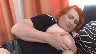 Piping hot grandmothers and filthy full-grown mothers porn video